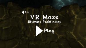 VR Maze: Intro Scene