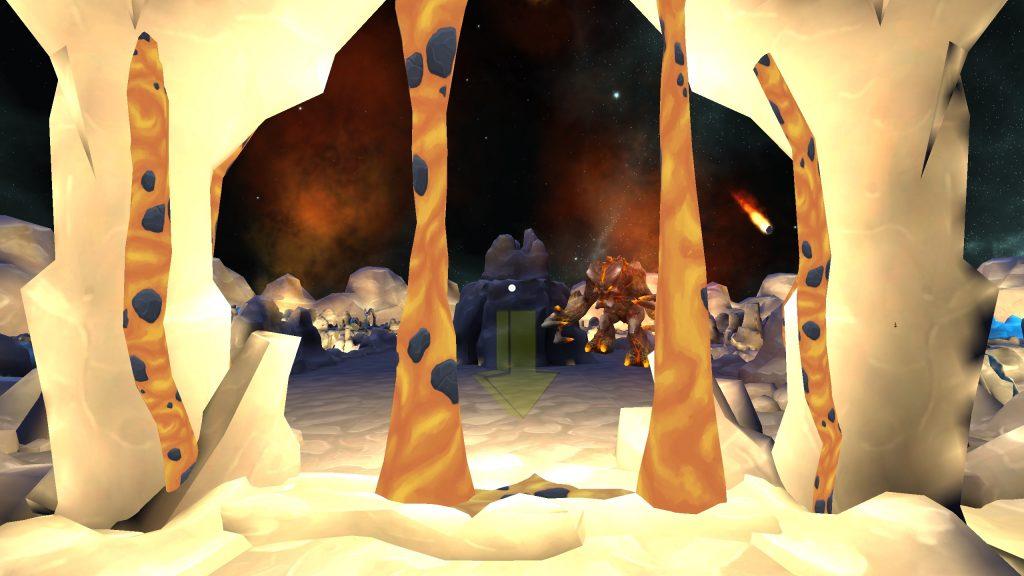 World of Mazes - Chapter 2 - Screenshot - Lavasaurus